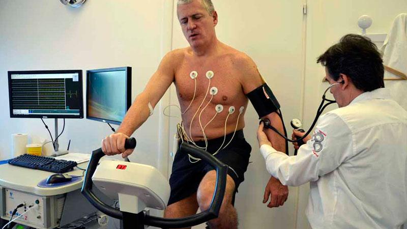 riabilitazione con cardiofrequenzimetro